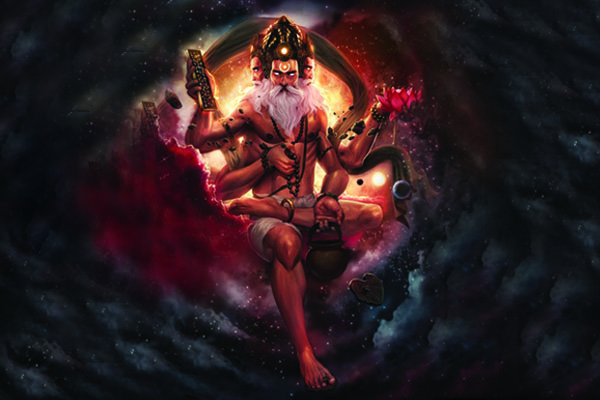 brahma, hindu god, hindu deities, brahma dev, art, picture, pitures, photo, photos, wallpaper