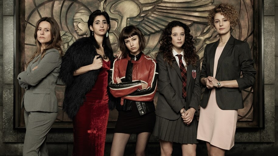 Money Heist, Women, Cast, Characters, 4K, #6.1117