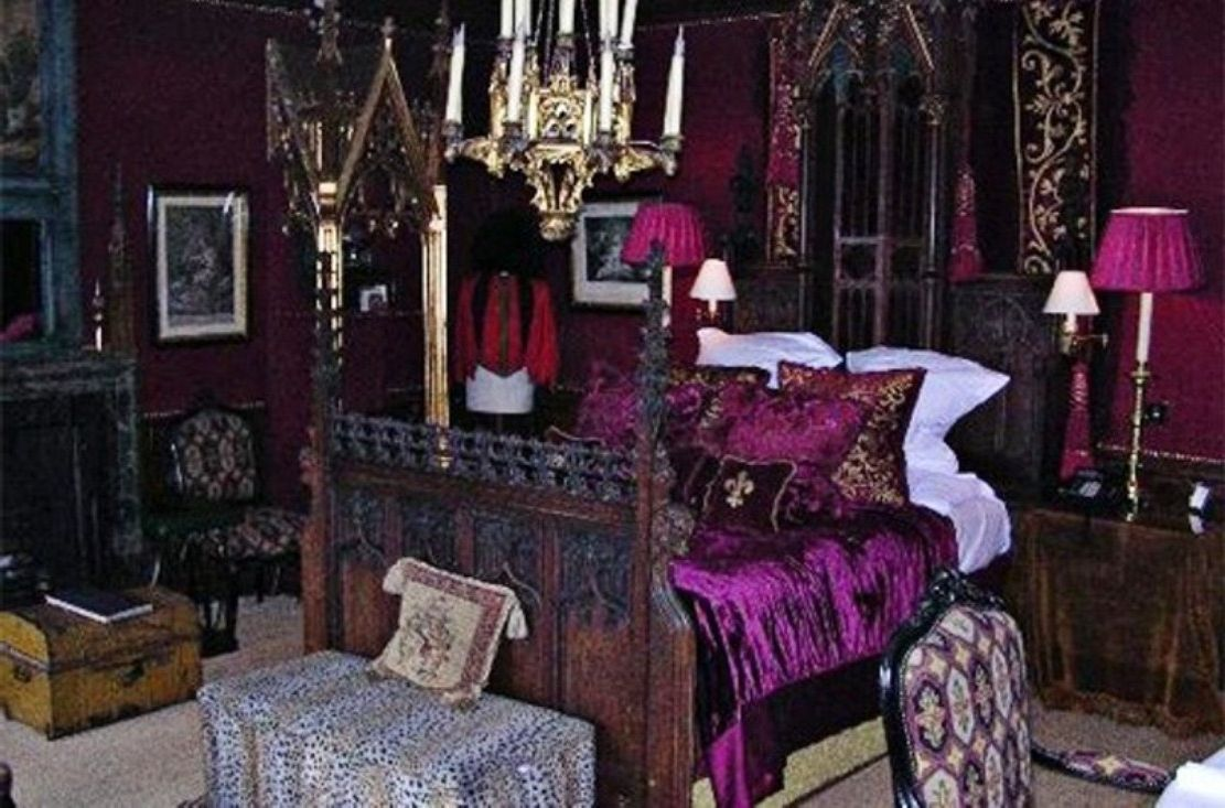Architecture And Furniture Amazing Gothic Bedroom Ideas