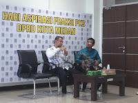 Salman Alfarisi Nilai Pemko Medan Tidak Memiliki Grand Design Penataan PKL