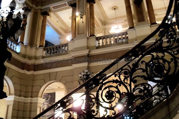 Interior da Biblioteca Nacional (RJ)