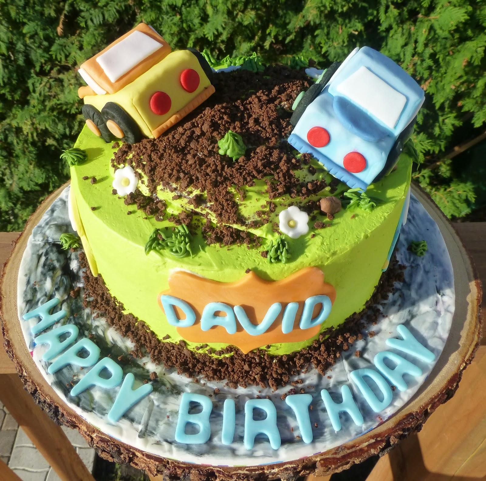 Cakesophia Trucks Cake For David