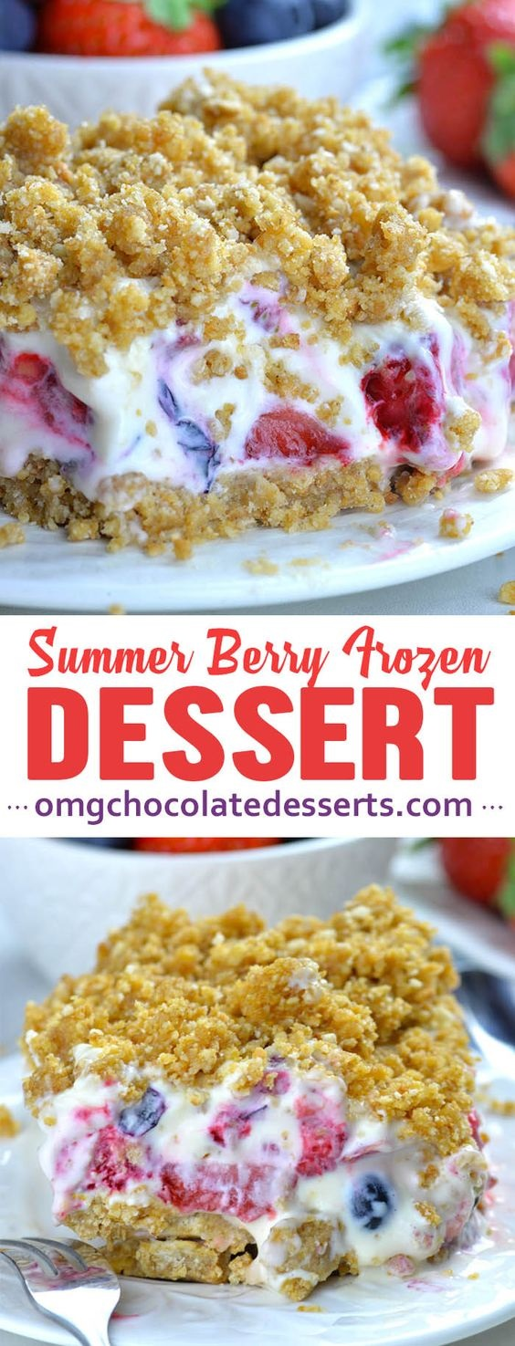 Summer Berry Frozen Dessert