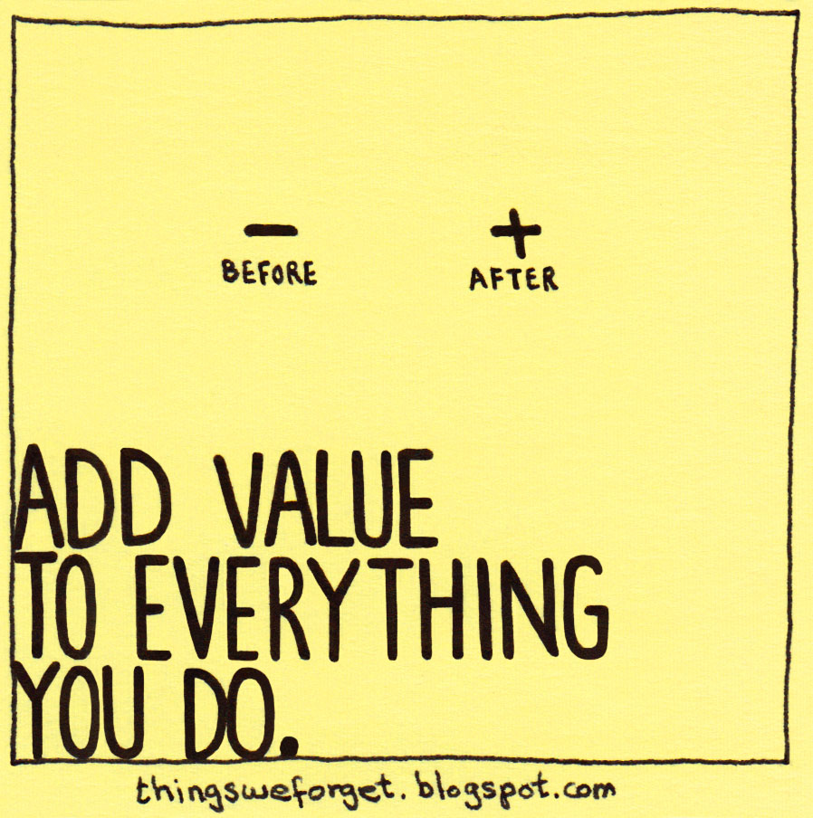 do we only value what we In their excellent book your work matters to god, 1 doug sherman and  temporal so much that we believe only  we do and make on earth do have value, .