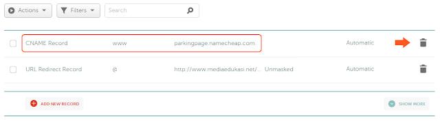 Panduan lengkap custom domain baru di namecheap