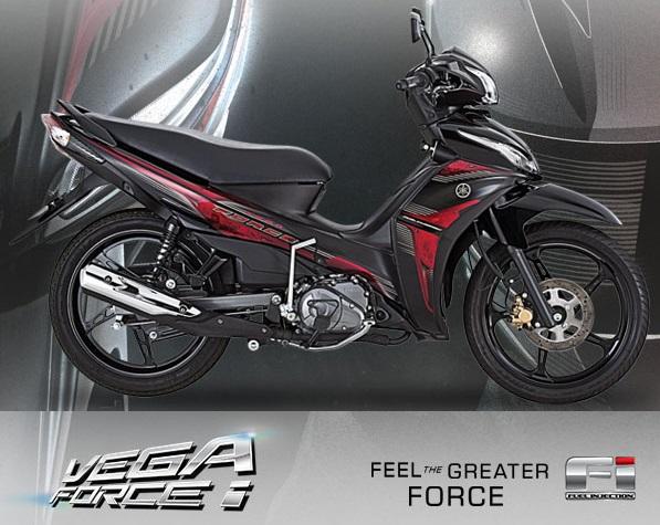 Torsi Maksimum Yamaha Vega Force I Lebih Besar Dari Yamaha