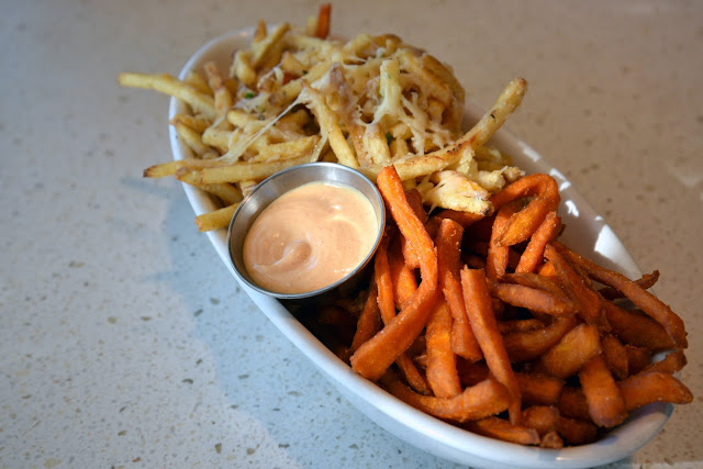50/50 fries at The Counter