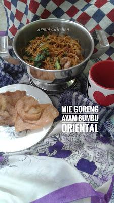 Resep mie goreng ayam bumbu oriental
