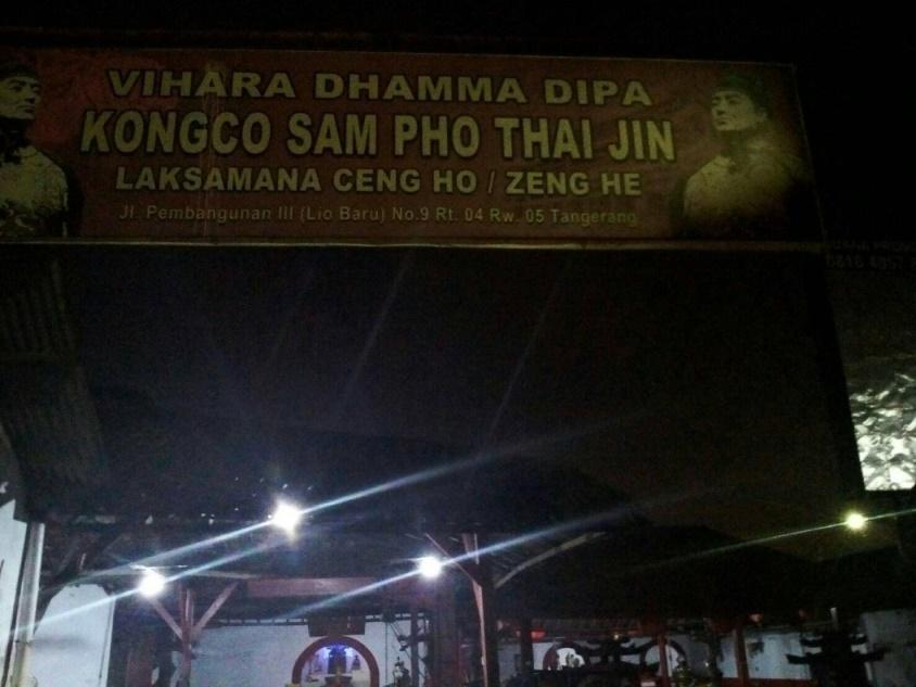 Klenteng Sam Pho Thai Jin berdiri tahun 1922 di daerah lio baru e9edde947b