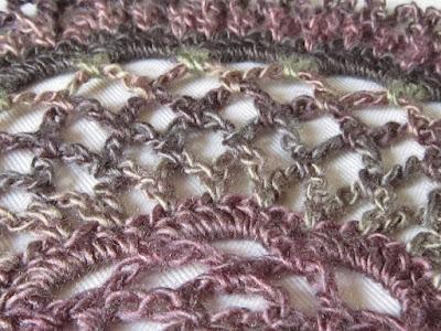 crochet, design, color changes, lace