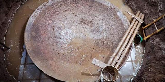 penemuan wajan raksasa di masjid batang