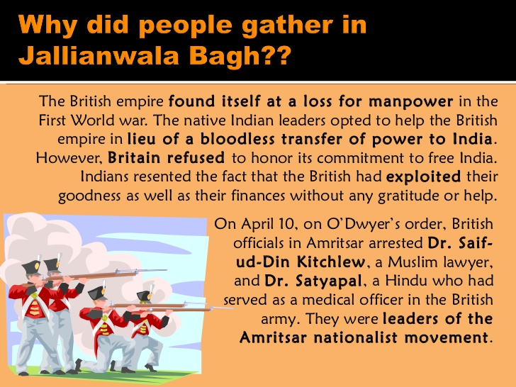 the british actions at amritsar What was the short-term significance of the amritsar massacre as indians believed that the british public supported dyer and his actions however.