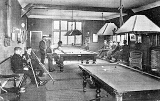 The Billiards Room for use of the various clubs