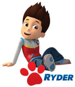 Imagen para imprimir gratis de Paw Patrol o Patrulla Canina de Ryder.