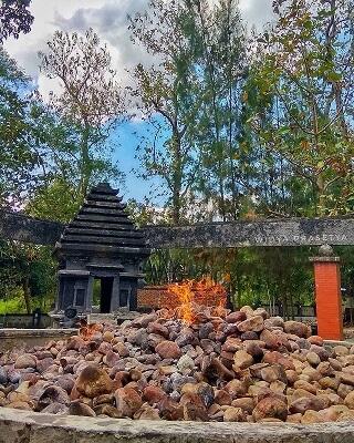 Kayangan Api Bojonegoro - Foto Instagram widya_prasetya27