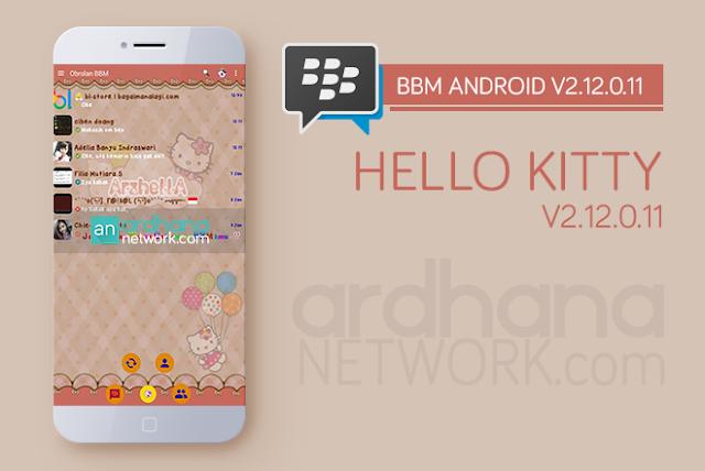 BBM Hello Kitty V2.12.0.11 - BBM Android V2.12.0.11