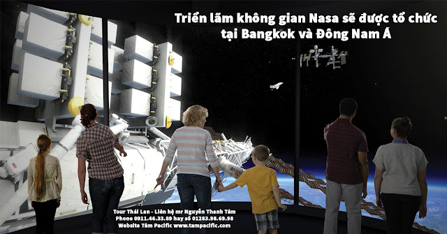 Triển lãm không gian Nasa sẽ được tổ chức tại Bangkok và Đông Nam Á