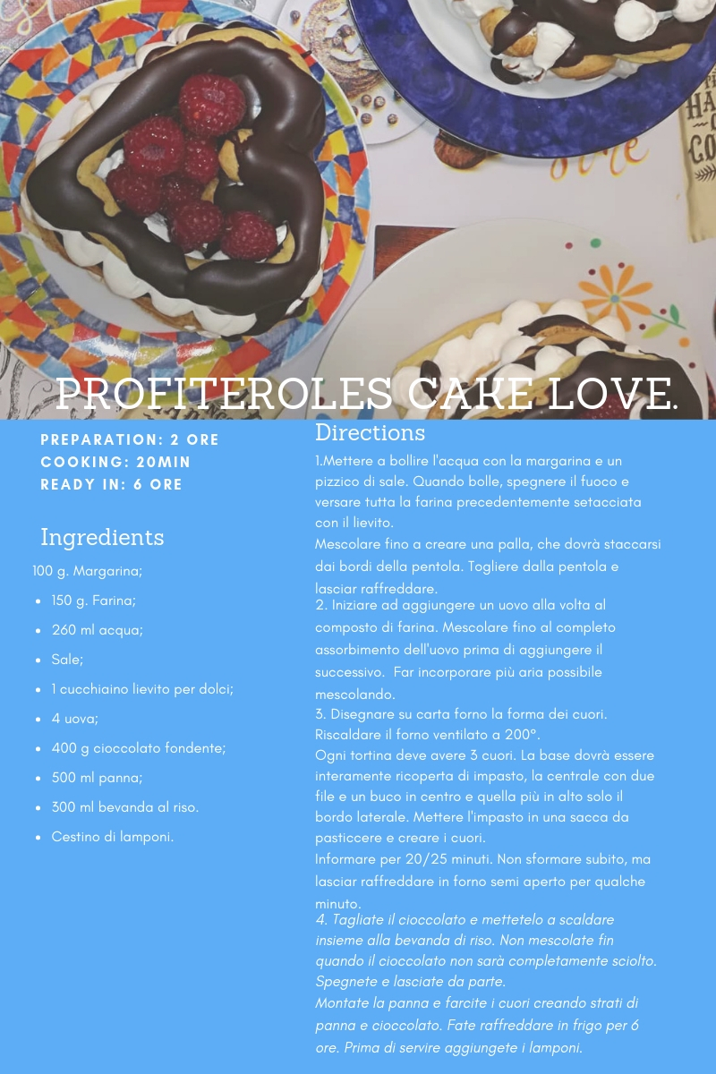profiteroles+valentinesday