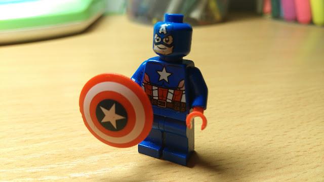 Капитан Америка фигурка лего купить