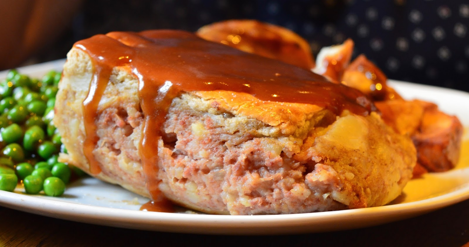 Overnight Stay at South Causey Inn | County Durham - Lunch menu Corned Beef Pie