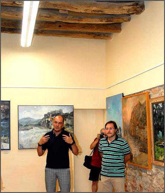MIRAVET-PINTURA-CASTELL-SAGRISTIA-CASTILLO-TARRAGONA-CATALUNYA-ALCALDE-PATRIMONIO-ARTISTICO-CUADROS-ARTISTA-PINTOR-ERNEST DESCALS