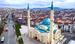 Sawirka masjidka maanta Madaxweynaha turkiga furay