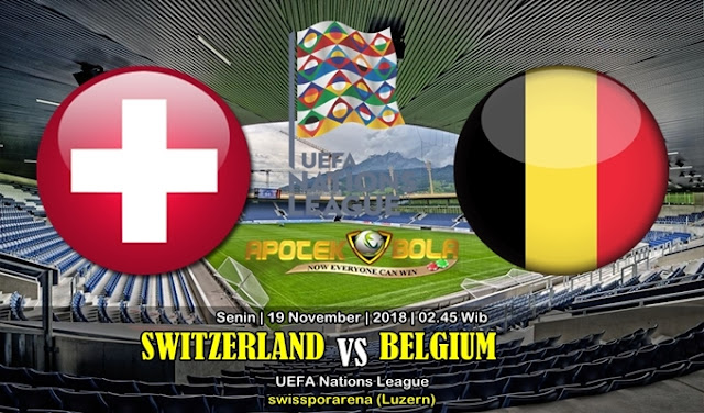 Prediksi Switzerland Vs Belgium 19 November 2018