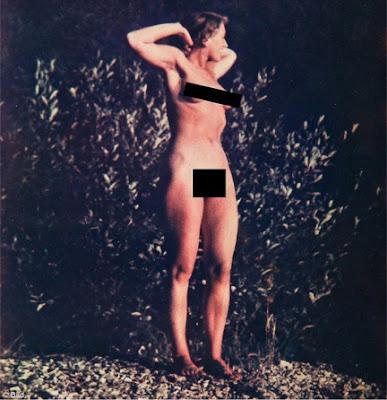 Eva Braun desnuda