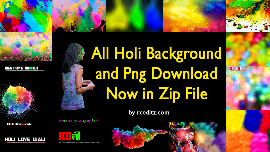 Editing Background Banner: Colourful Background