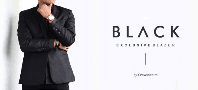 limited shoping banner black blazer limitedshoping