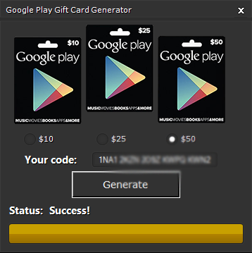 google play money code generator