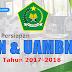 Informasi Persiapan UN dan UAMBN Madrasah Tahun 2017-2018