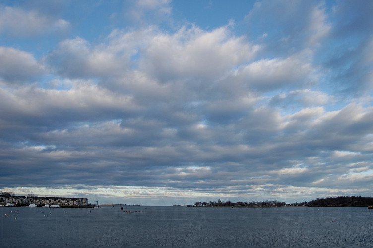 Ocean and clouds in Salem, Massachusetts (photo by Gabriel L. Daniels)