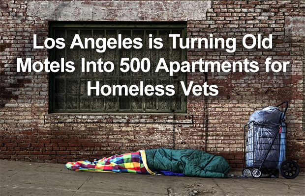 Los Angeles is Turning Old Motels Into 500 Apartments for Homeless Vets