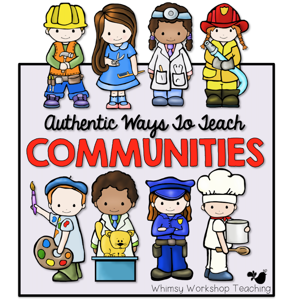Teaching About Communities With Busy Town