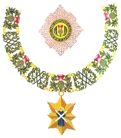 Emblem of the Order of the Thistle