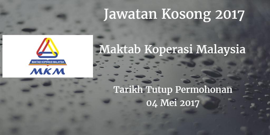 Jawatan Kosong MKM 04 Mei 2017