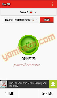 Etisalat Unlimited Browsing Tweak Now Included In Latest Stark Vpn V3.4