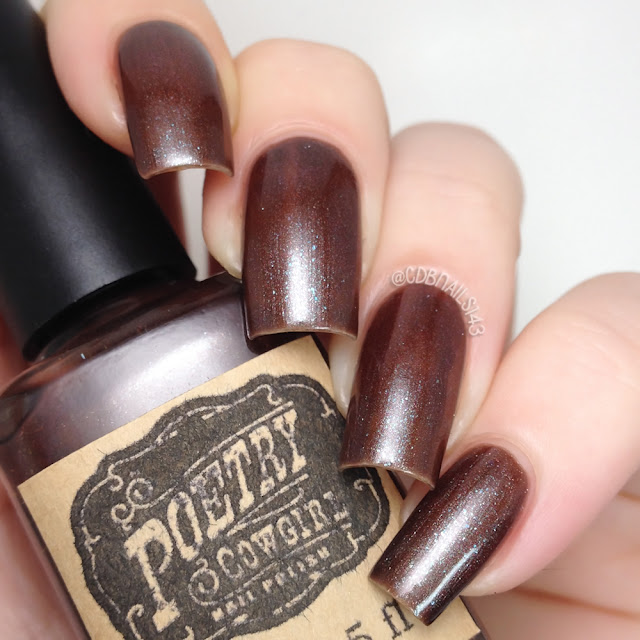 Poetry Cowgirl Nail Polish-Spiced Hot Cocoa