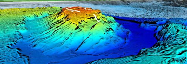 Seamount y fondos oceanicos