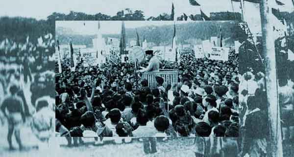 Dukungan Rakyat Terhadap Proklamasi