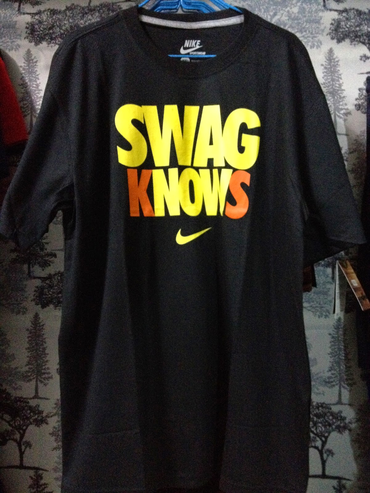 classic styles where to buy cheap sale Nike T-Shirt (Swag Knows) - R&D Apparel Madness