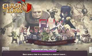Clash of Clans FHx v8 Mod Apk Private Server Indonesia