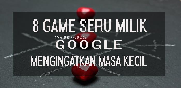 google juga membuat game bertema edukasi, tebak-tabakan tetapi sangat menyenangkan untuk menjadi penghibur sejenak bersama teman-teman anda.