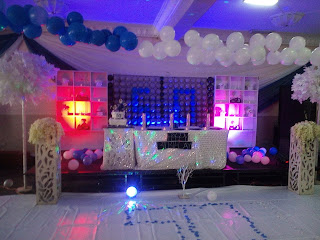 50th Diamond and Denim Birthday Party Decoration and Ideas