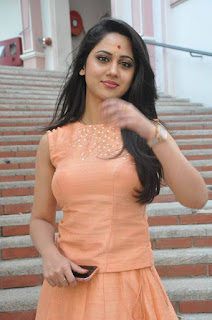 Actress Miya George Stills at United Kireeti Movies Ltd Production No 8 Movie Opening 0011.jpg
