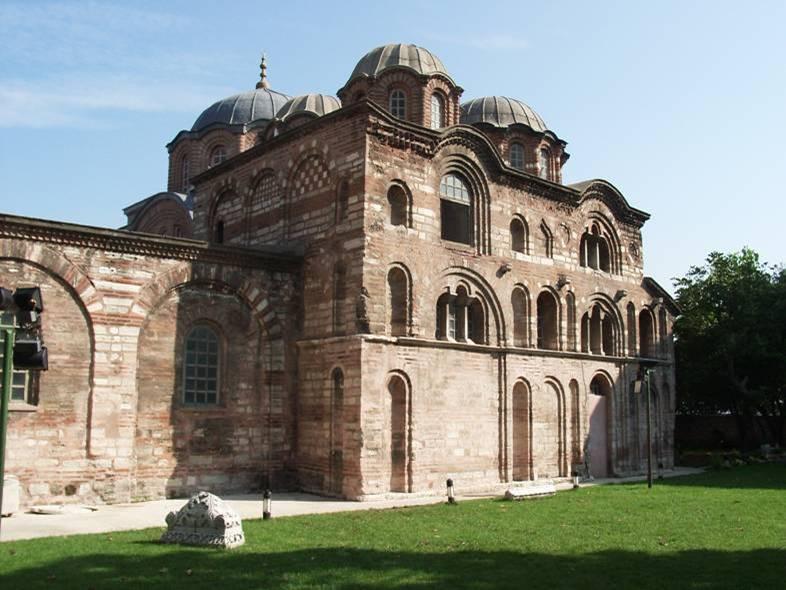 Bisanzio: chiesa della Teotokos Pammakaristos, Costantinopoli