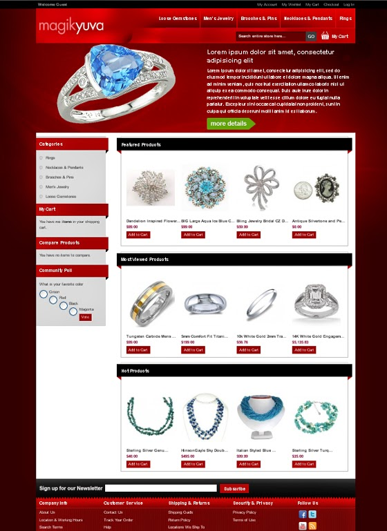 thiết kế website bán hàng nhẫn cưới đẹp