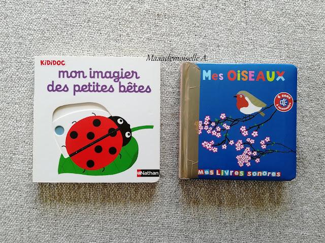 || Sélection de livres sur le printemps - Mon imagier des petites bêtes - Mes oiseaux
