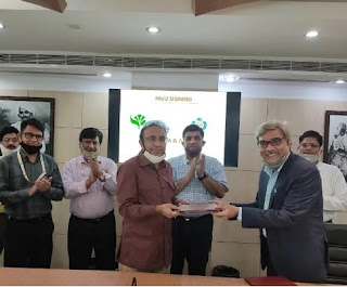 APEDA signs MoU with AFC India Ltd and NCUI, Delhi